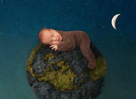 Baby Boy Studio Newborn Session - August 2018