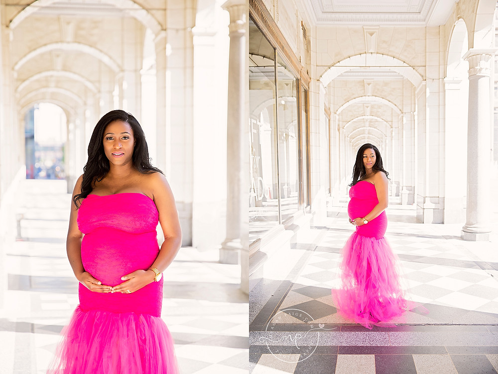 Bismark's Maternity Session - Calgary Downtown - Meagan Paige Photography