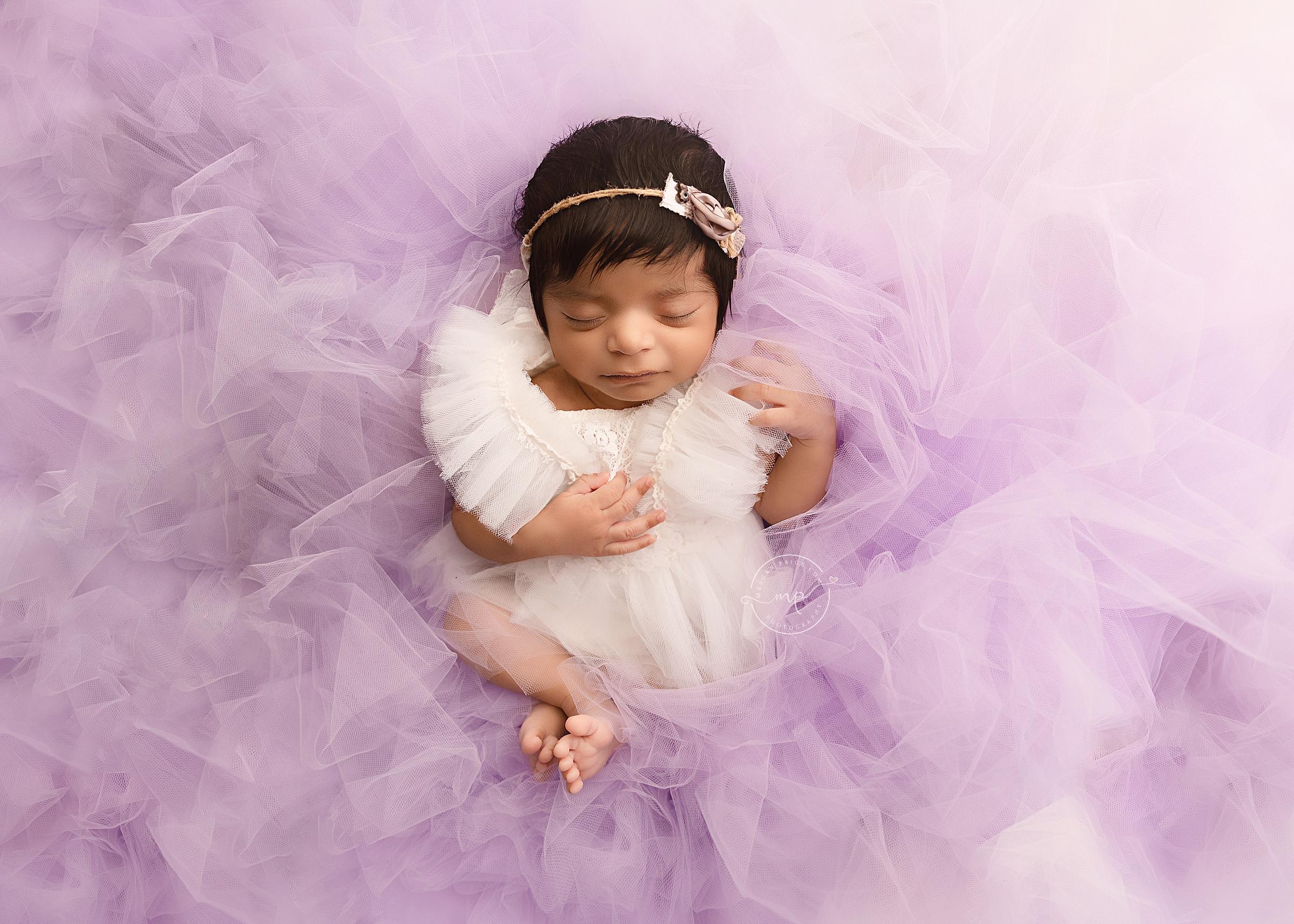 NW Calgary Newborn Girl Photographer - Meagan Paige Photography