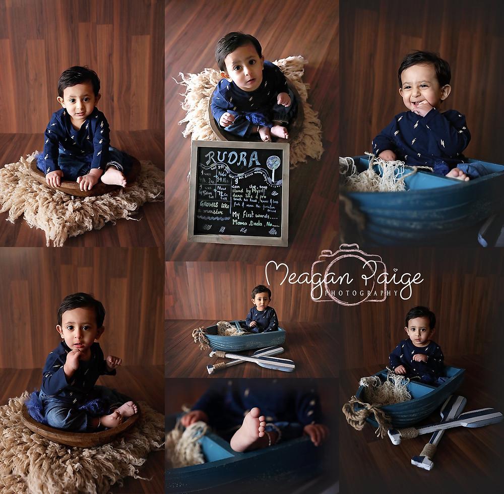 Calgary Child Photography - One Year Milestone