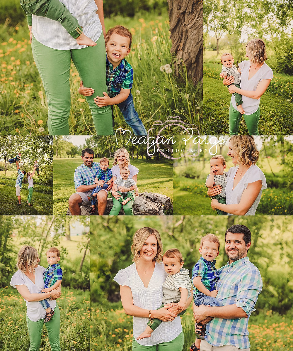 Confederation Park Family session - Calgary Family Photographer