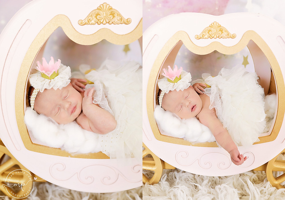 Princess Scarlett's Newborn Session - Meagan Paige Photography - Calgary, AB