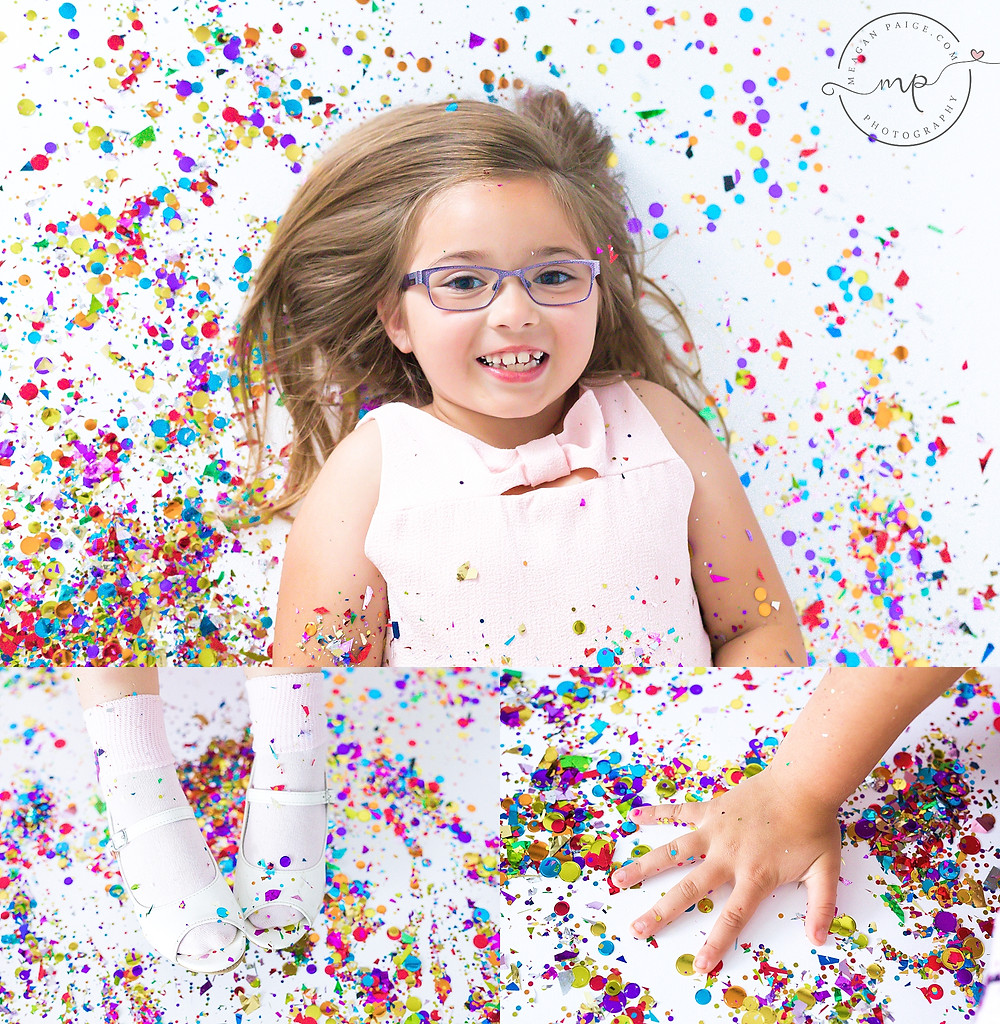 Confetti Mini Sessions - Calgary Child Photographer - Meagan Paige Photography