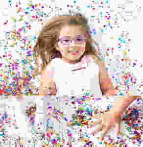 Confetti Mini Sessions - Calgary Child Photographer - Meagan Paige Photography
