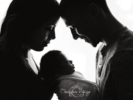 Baby Boy Mateo - Calgary Newborn Photographer - Meagan Paige Photography
