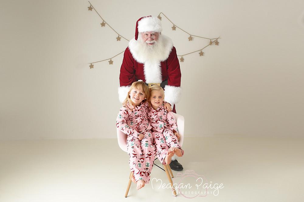 Photo with Santa - Calgary Photographer