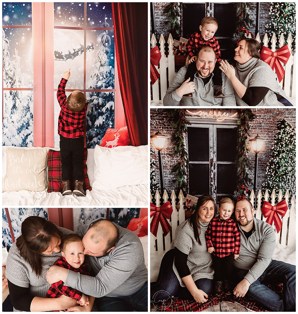 Christmas Mini Session - Meagan Paige Photography - Calgary