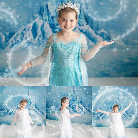 Calgary, Alberta Portrait Photographer |Ashlynn's Princess Mini Session