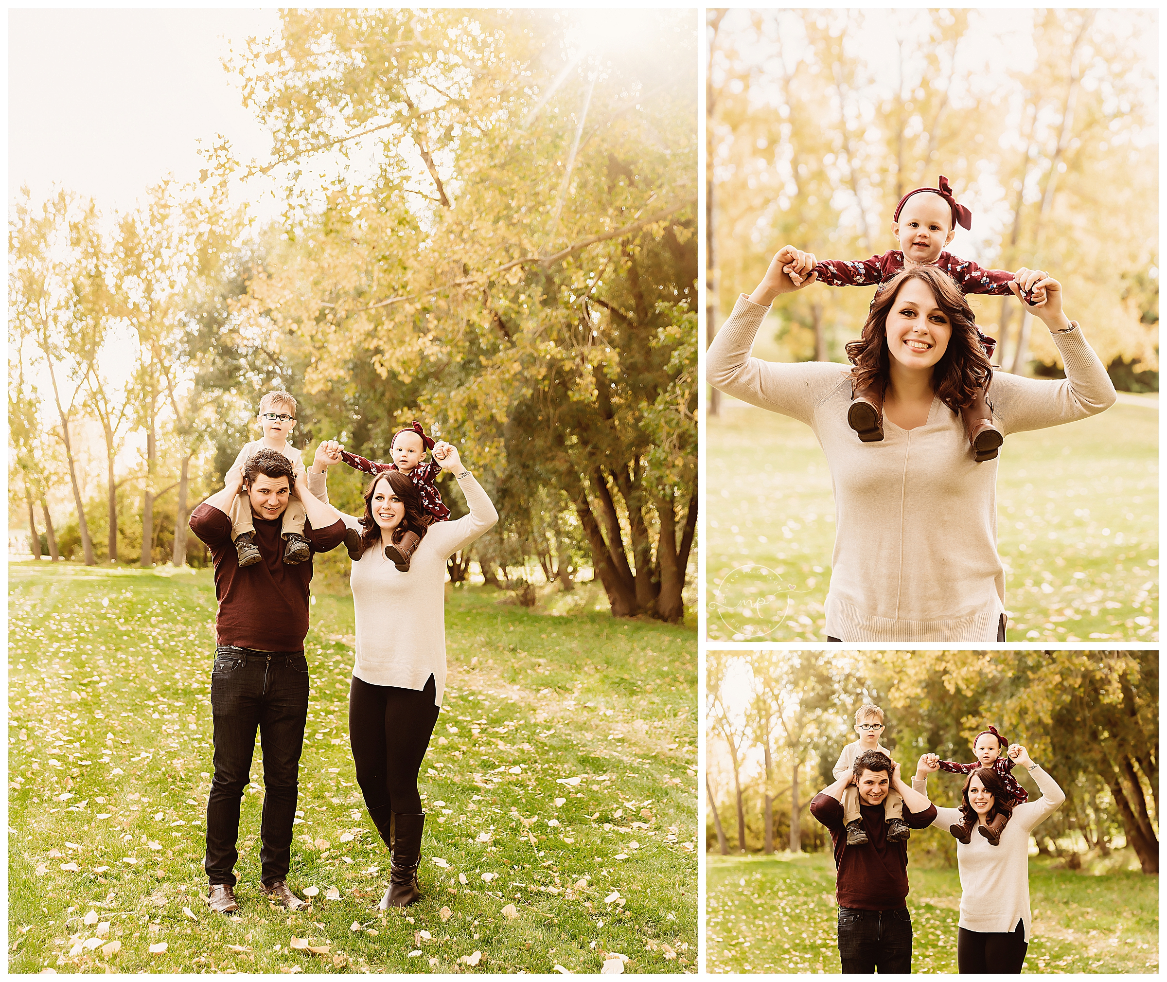 Calgary Fall Family Photo Session at Confederation Park