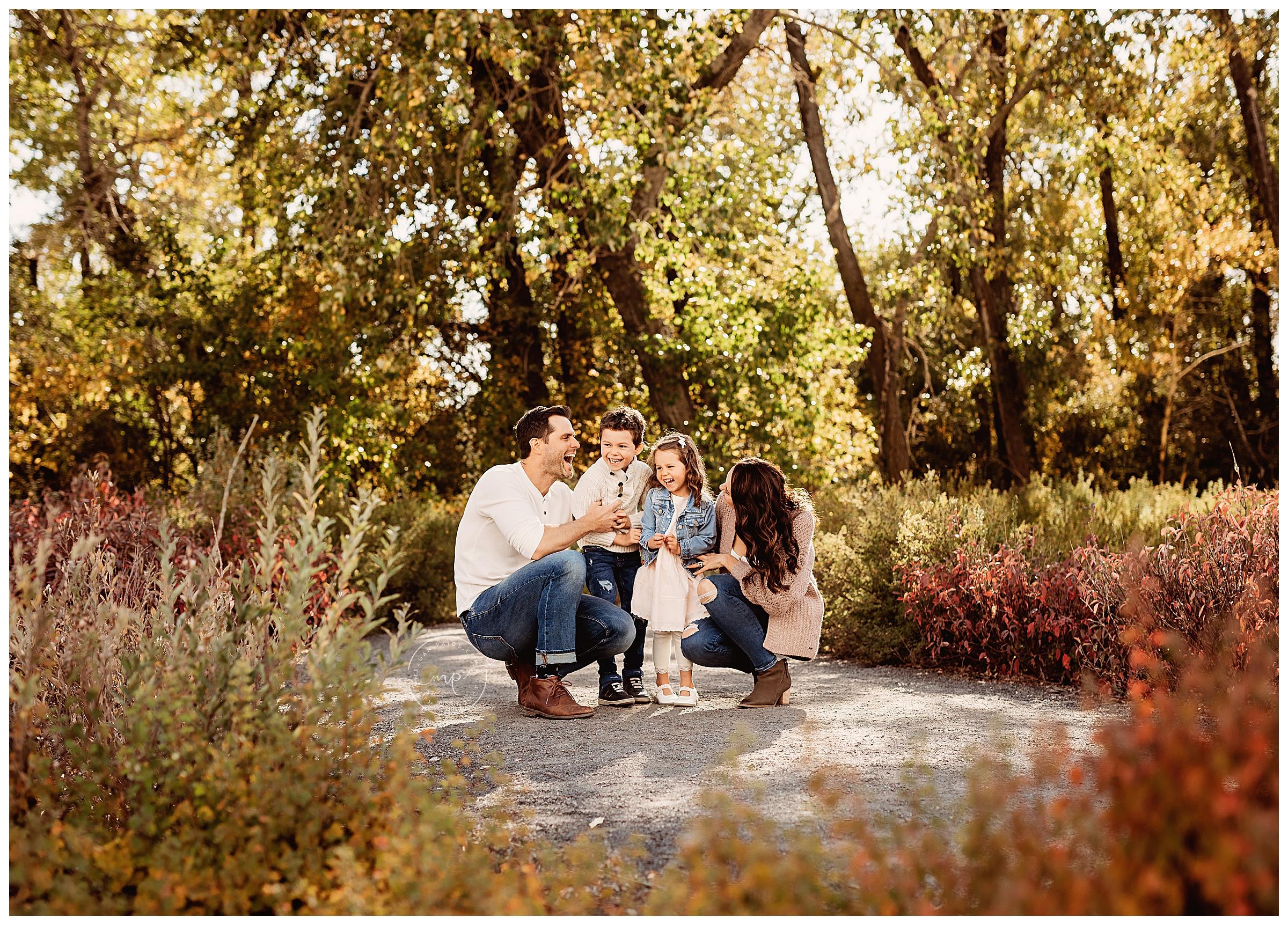 Pearce Estate Park - Fall Family Mini Session - Meagan Paige Photography - Calgary