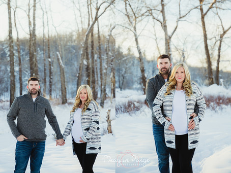 The BIGGEST Surprise Ever!! - Calgary Maternity Photographer - Meagan Paige Photography