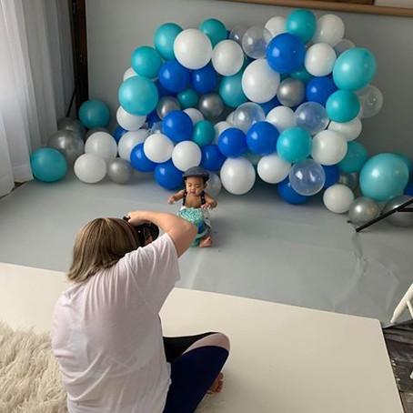 How to take Cake Smash Photos at Home during Quarantine