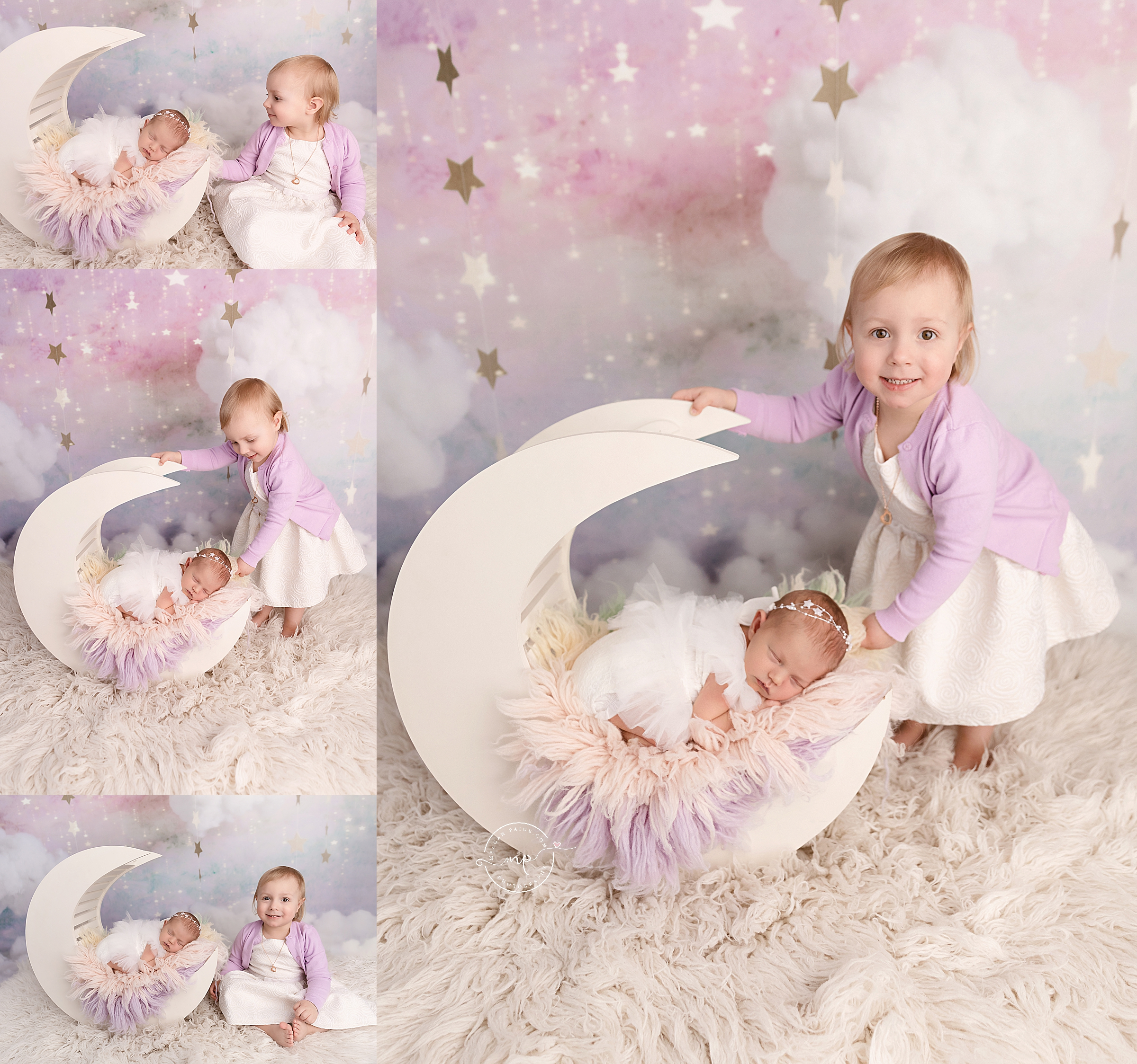 Calgary Pastel Newborn Session - Meagan Paige Photography