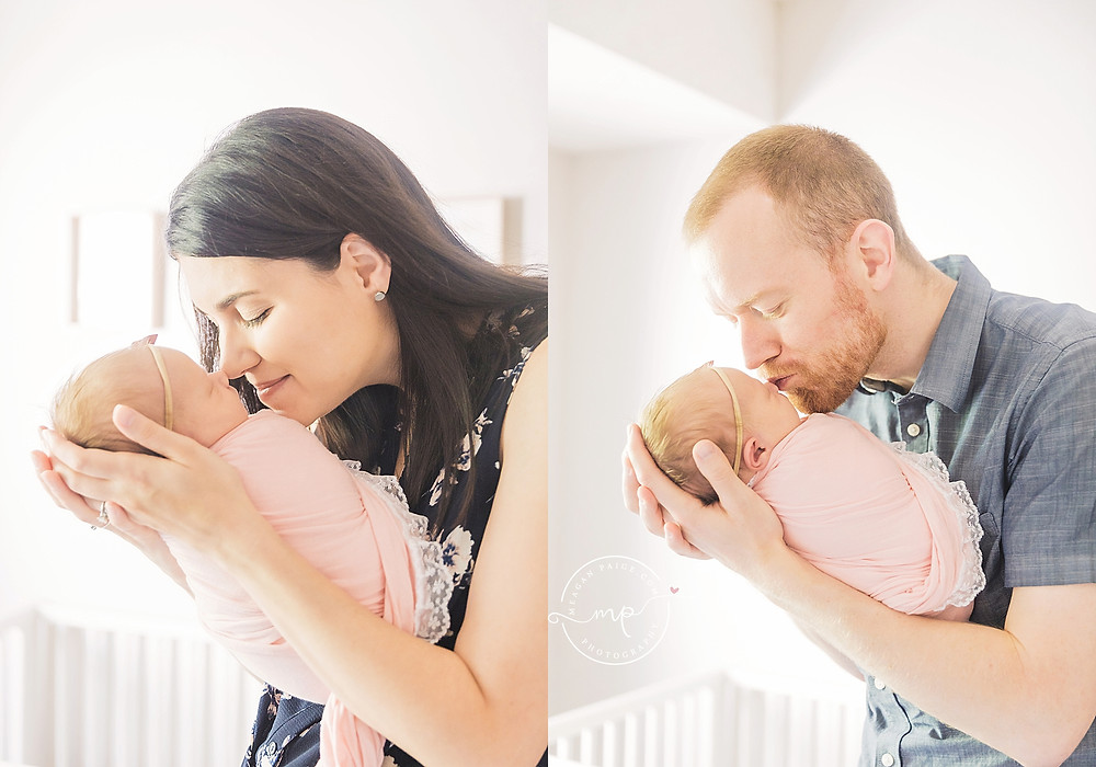 Baby Girl Lifestyle Newborn Photography Session - Calgary AB