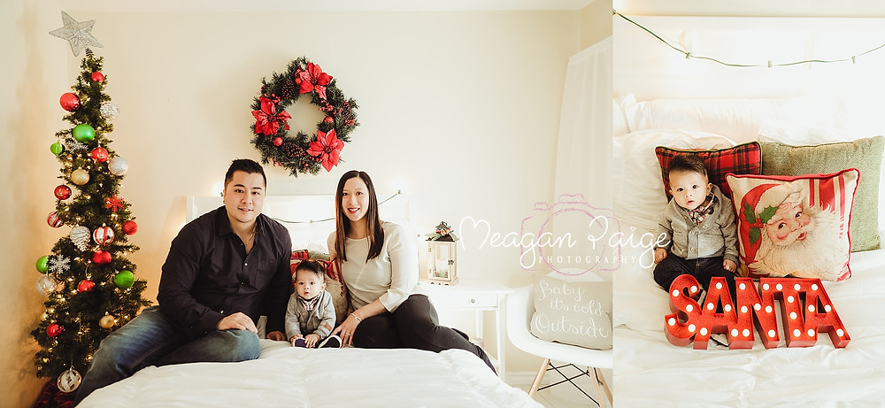 Indoor Christmas Mini Sessions - Calgary Photographer