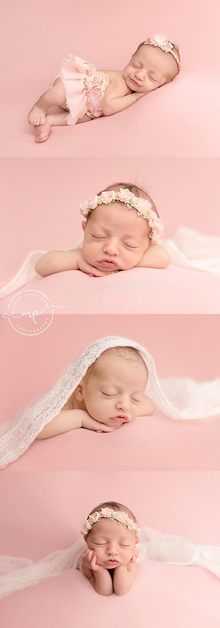 Unicorn and Princess Newborn Session - Calgary Photographer - Meagan Paige Photography