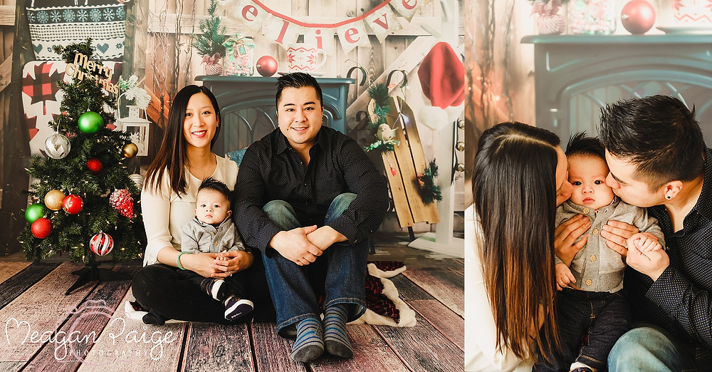 Indoor Christmas Mini Sessions - Calgary Photography