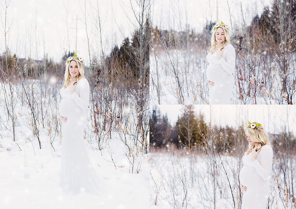 Griffith Woods Park Maternity Photo Session - NW CALGARY