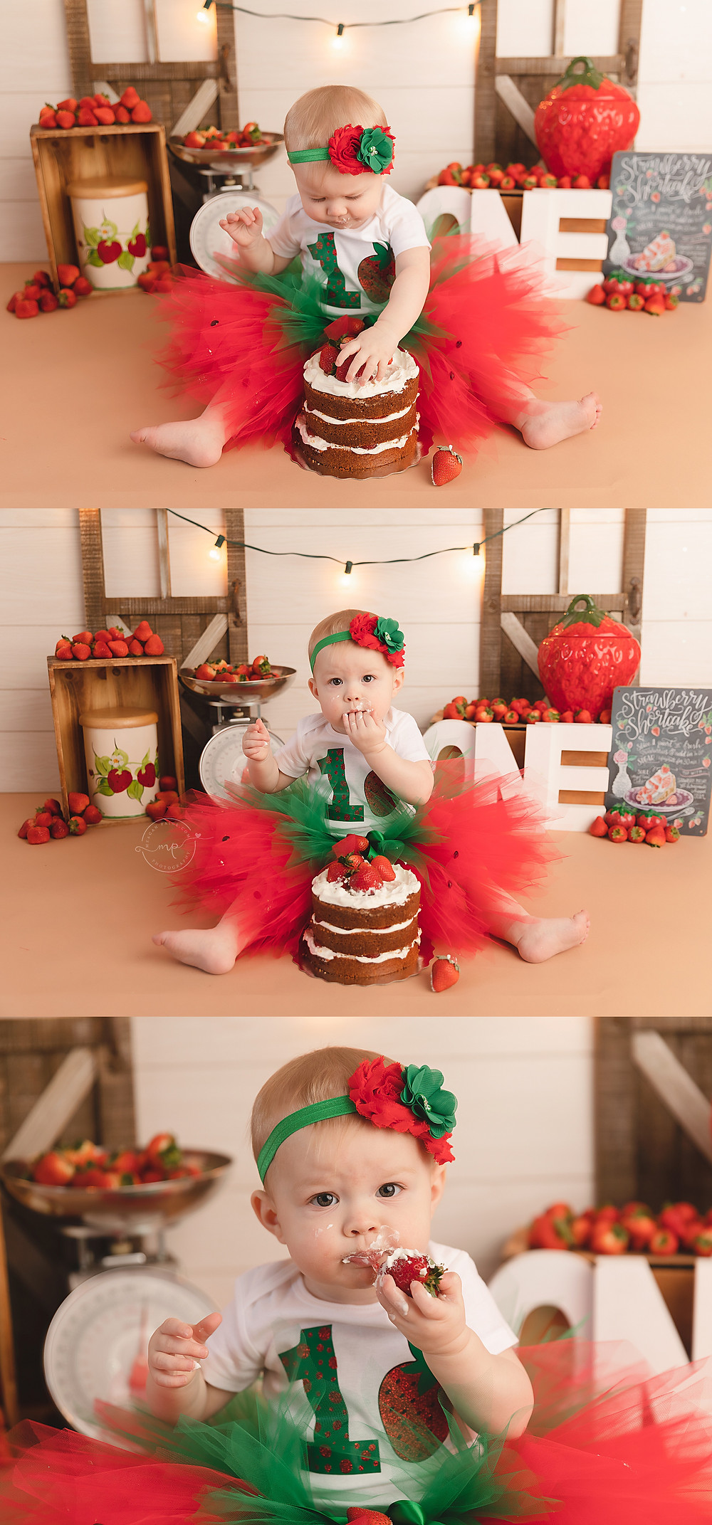 bragg creek cake smash photography