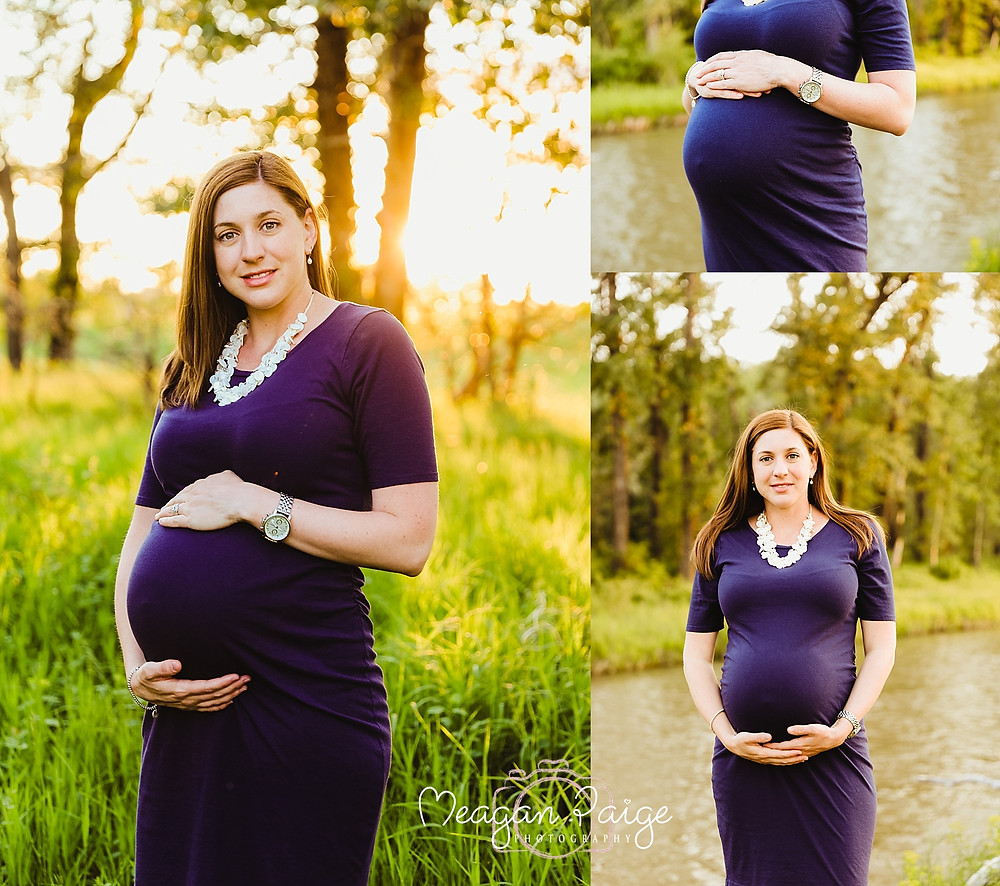 Maternity Session at Fish Creek Park