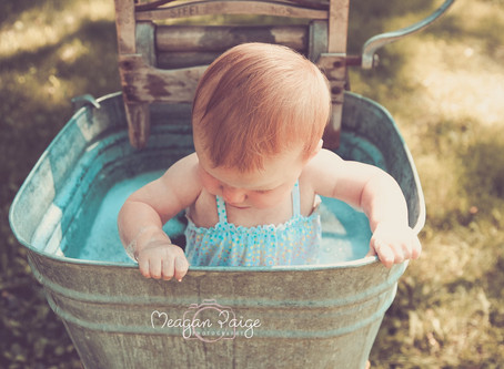 Bubble Bath Mini Sessions - Calgary Child Photographer