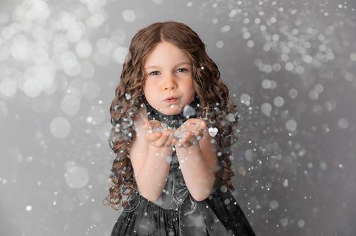 Child Glitter Milestone Session - Meagan