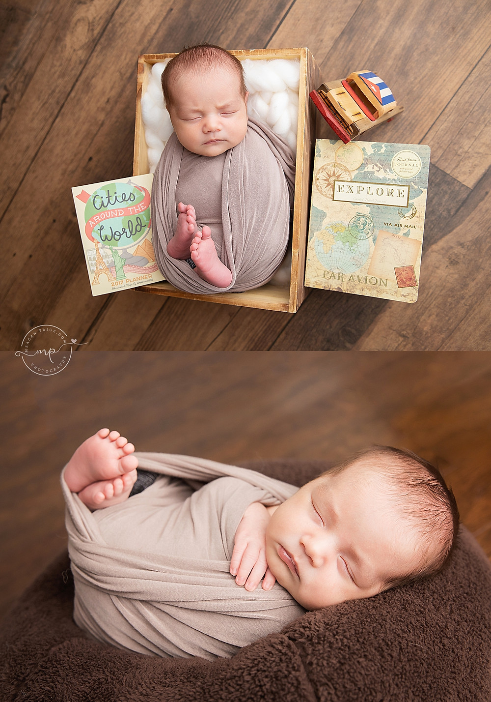 Baby Boy Newborn Portrait Session - Meagan Paige Photography - Calgary,AB