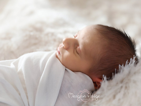 Baby Boy Zaydan - Calgary Lifestyle Newborn Photographer