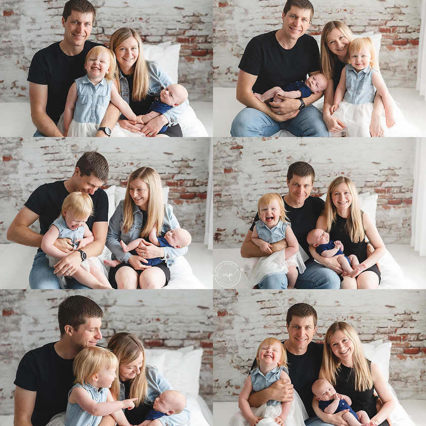 Home Newborn Session - Meagan Paige Photography - Calgary, AB