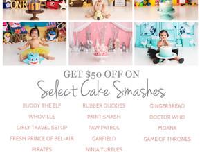 2021 Cake Smash Bucket List