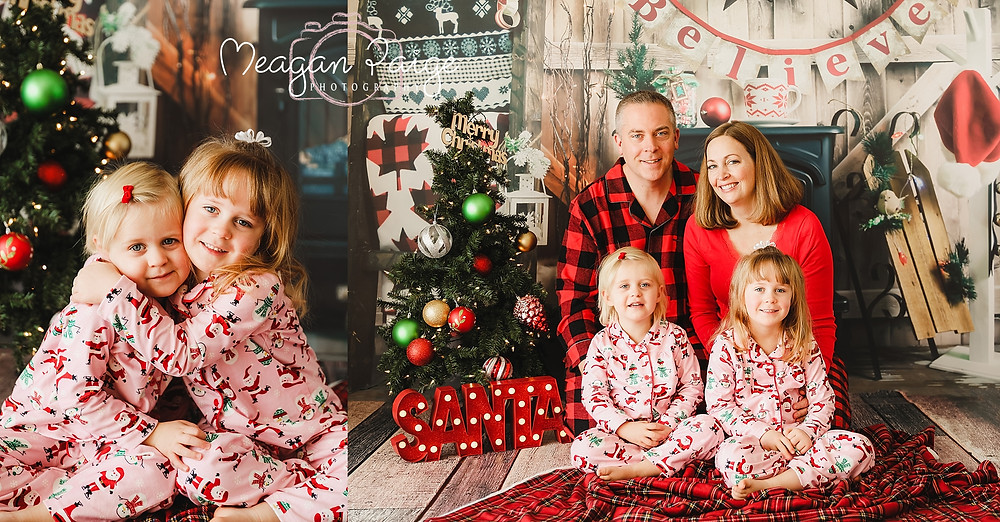 Indoor Christmas Mini Sessions - Calgary Area