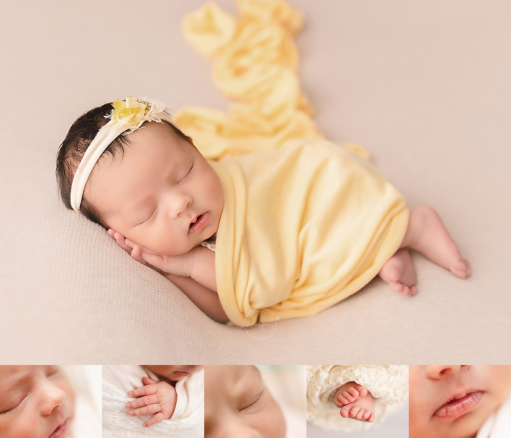 Sam's Baby Girl - Calgary Newborn Photographer - by Meagan Paige Photography