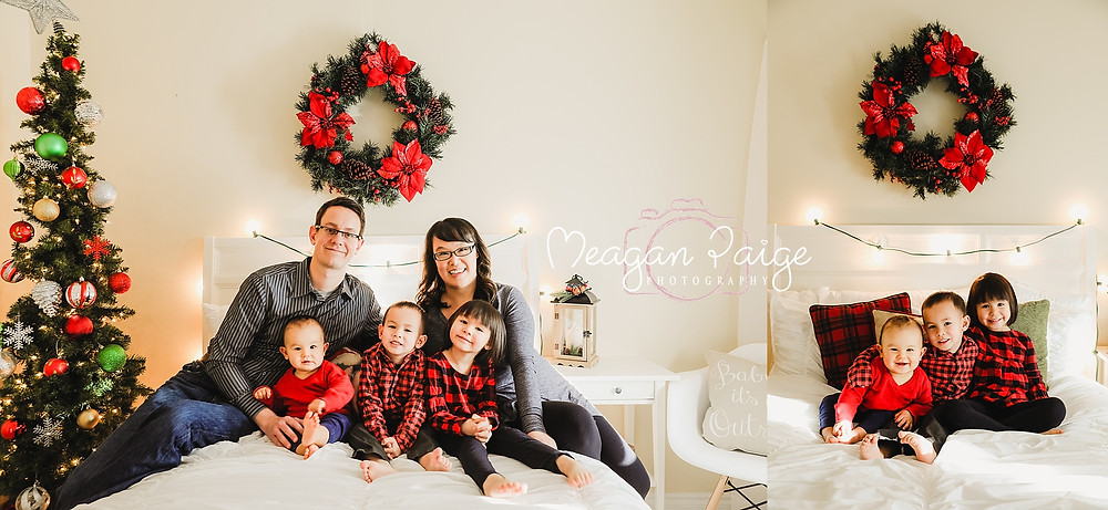 Indoor Christmas Mini Sessions - Calgary and Airdrie Photographer