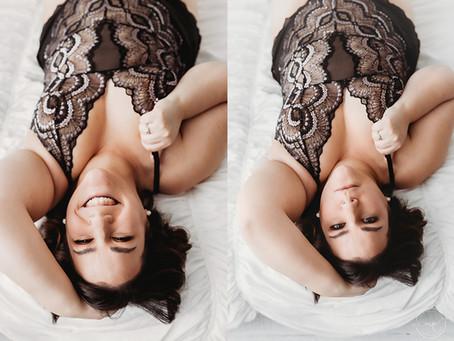 Ms K's Boudoir Session - Calgary Portrait Photographer
