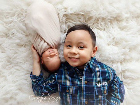 Baby Boy Jonah - Calgary Newborn Photographer - Meagan Paige Photography