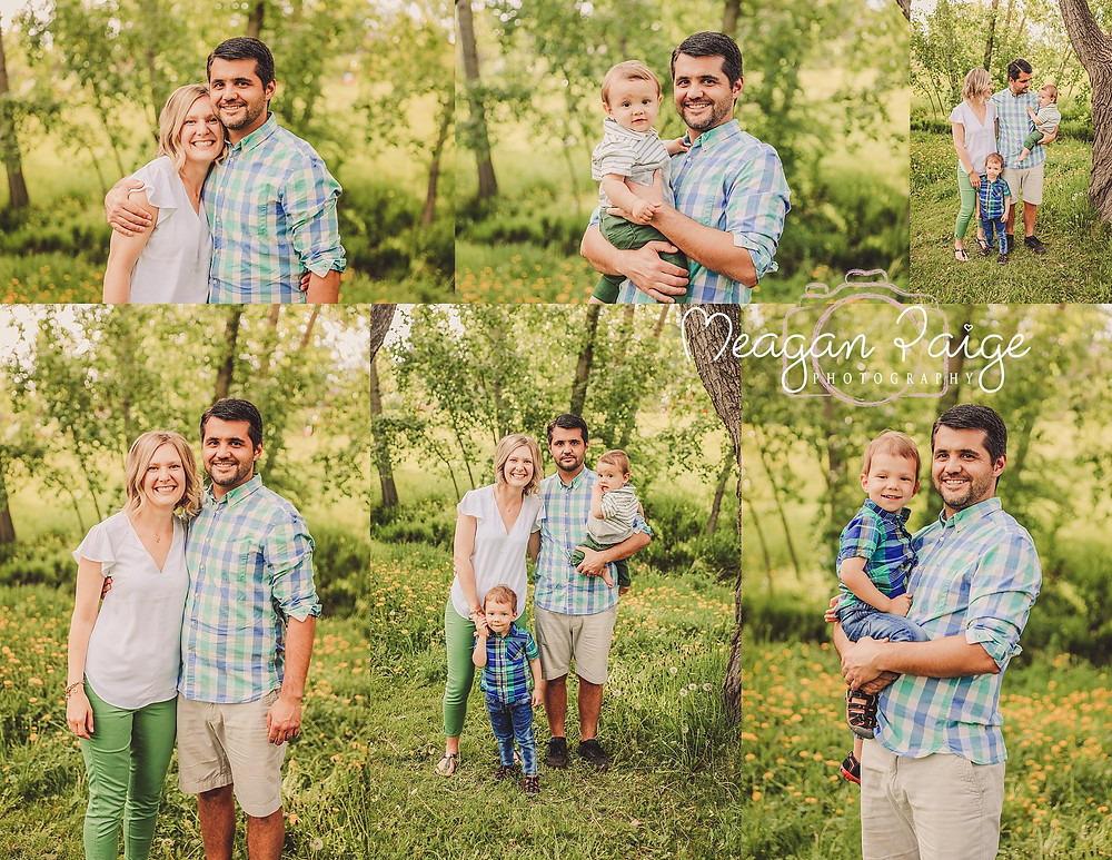 Family of Four Photo Session - Meagan Paige Photography