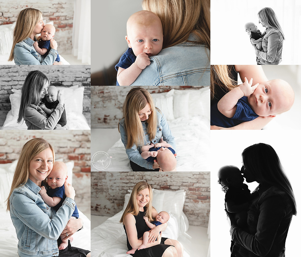 Lifestyle Newborn Session - Calgary Photo Studio - Meagan Paige Photography