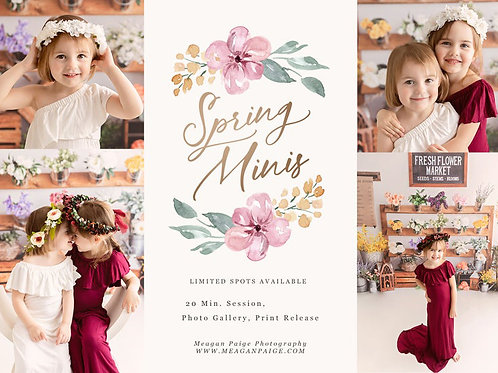 2021 MAY - SPRING MINI SESSIONS