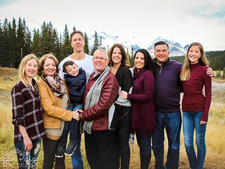 Frosty Family Session - Calgary Photographer
