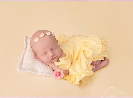 Princess Inspired Newborn Session