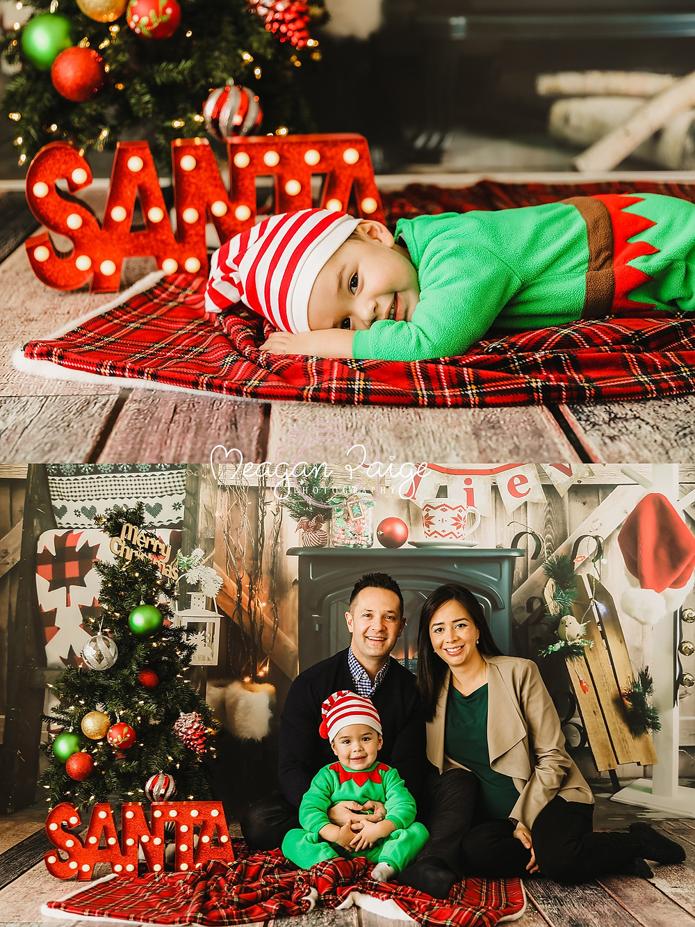 Indoor Christmas Mini Sessions - Meagan Paige Photography