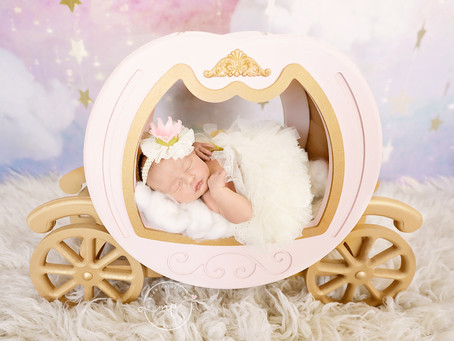 Princess Scarlett's Newborn Session - Meagan Paige Photography