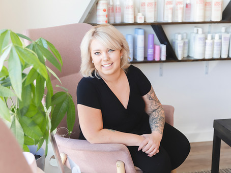 SHOWCASE YOUR BUSINESS - Hairstyling by Brooke Mcrae - Branding Photography