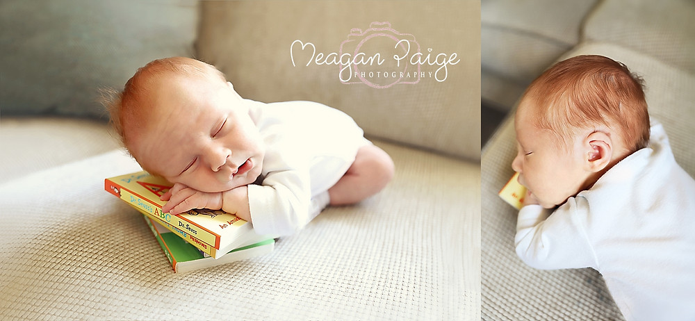 Newborn Boy - Bookworm