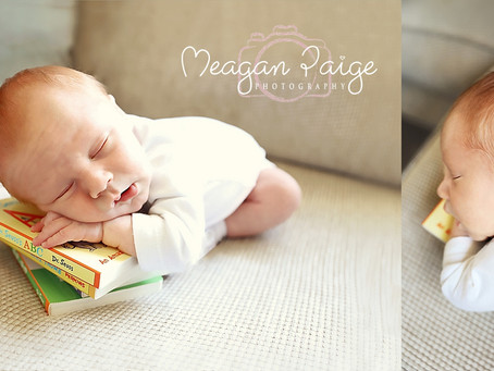 Baby Boy Fergus - Calgary Newborn Photographer - Meagan Paige Photography