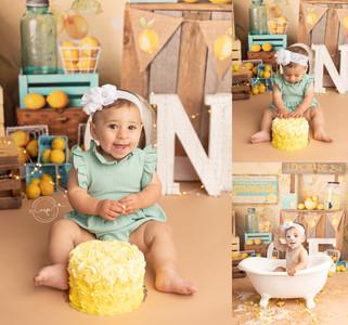 Cake Smash Theme Ideas - Calgary Child Photographer - Meagan Paige Photography