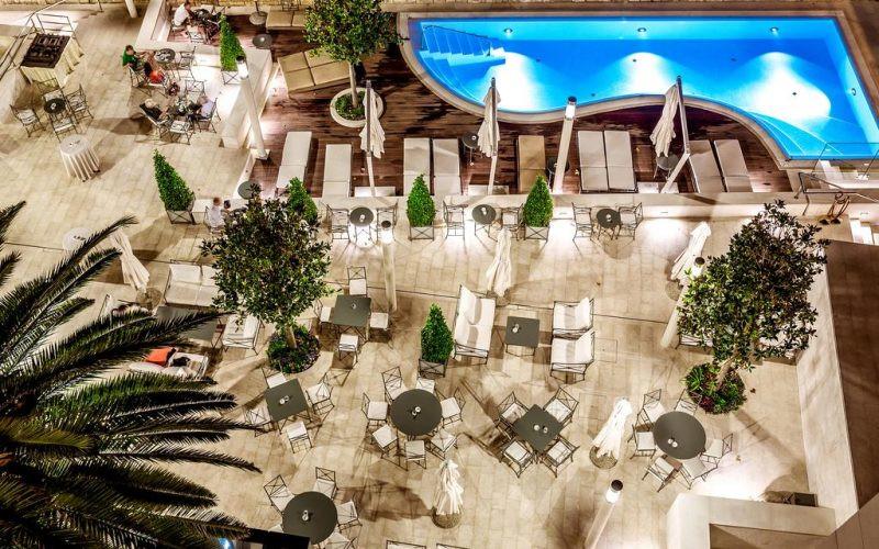 Hotel Park Split pool copings