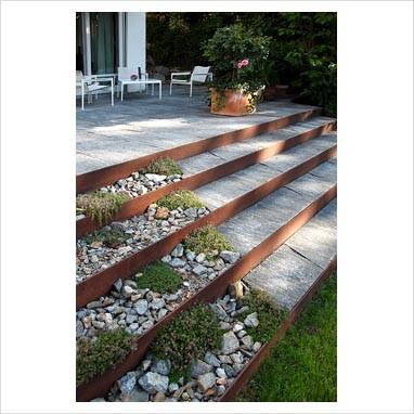 Designed paving