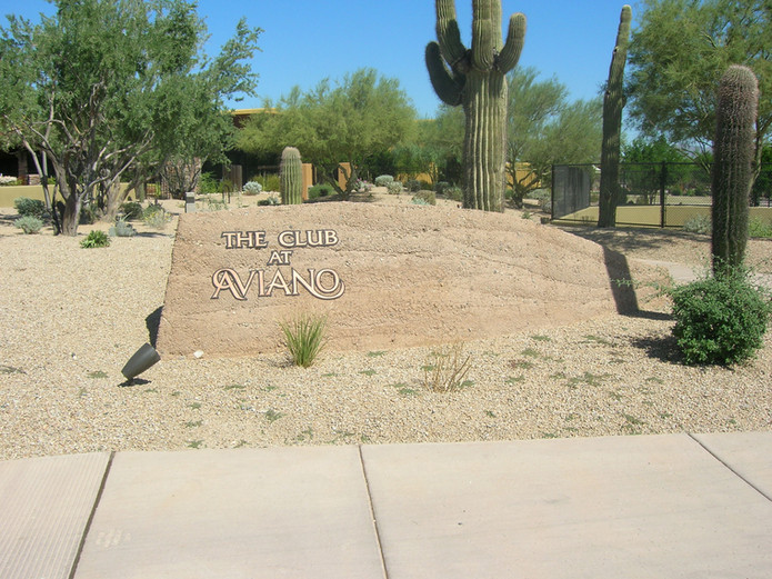 Desert DG sign