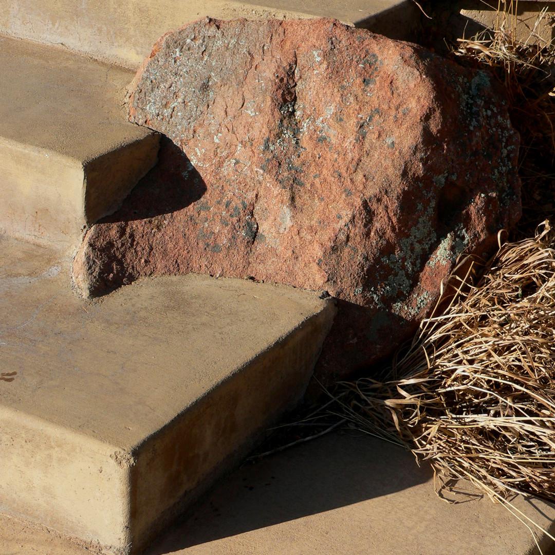 Boulder step details